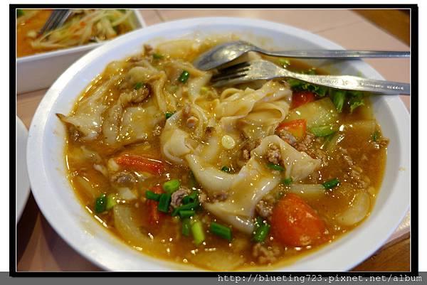 泰國曼谷SIAM《inter餐廳》洋蔥牛肉燴河粉2.jpg