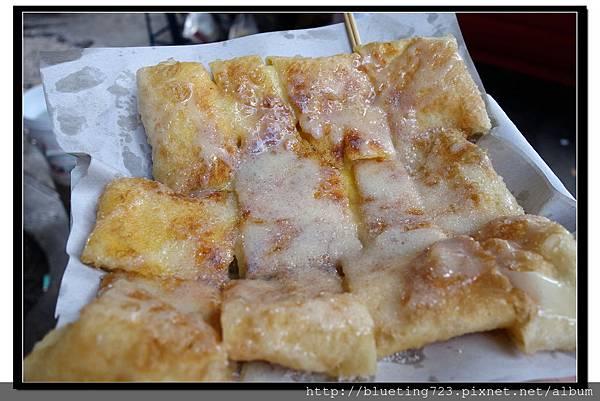 泰國曼谷小吃《香蕉煎餅》2.jpg