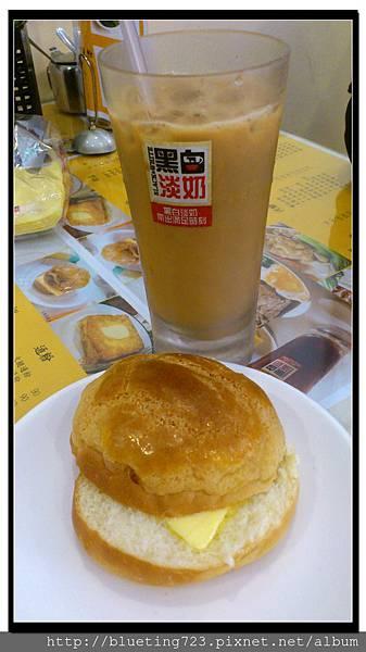 新竹金山街《元朗茶餐廳》菠蘿油.jpg