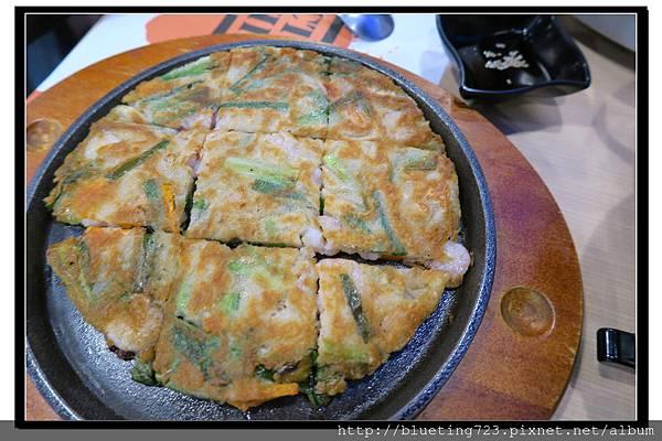 新竹竹北《OMAYA麻藥瘋雞》韓式海鮮厚煎餅1.jpg
