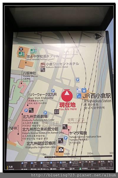 九州《小倉城》路標.jpg