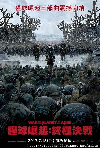 《猩球崛起:終極決戰》WAR FOR THE PLANET OF THE APES