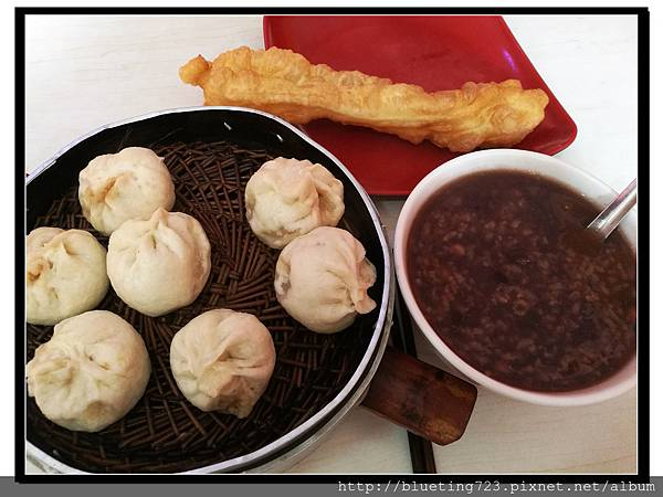 雲南大理《早餐》小籠包、八寶粥、油條.jpg