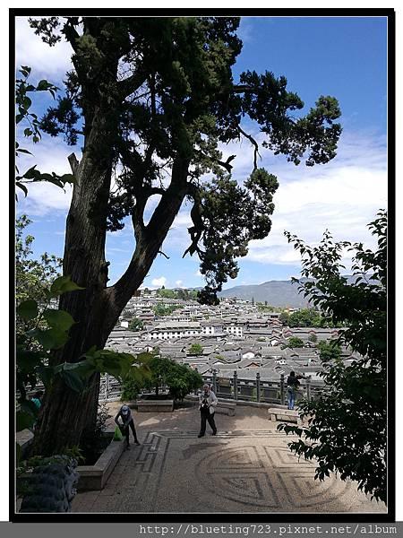 雲南《麗江古城》24 文昌宮觀景台.jpg