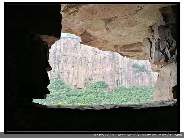 河南輝縣《萬仙山景區》絕壁長廊4.jpg