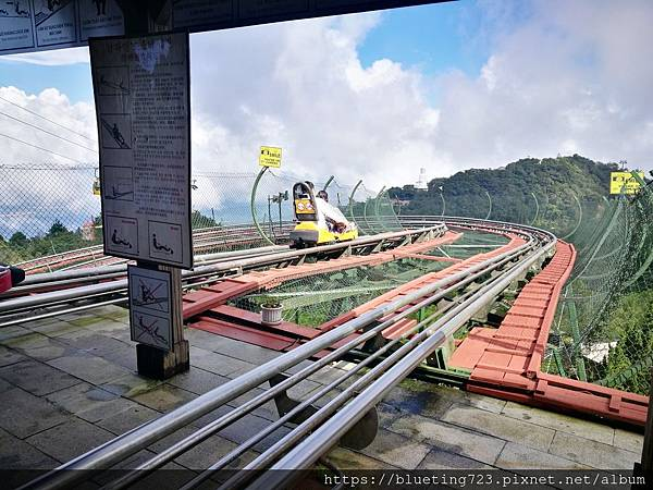 越南峴港Da Nang《巴拿山Sun World Ba Na Hills》Alpine Coaster 3.jpg