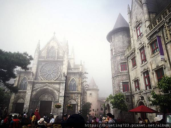 越南峴港Da Nang《巴拿山Sun World Ba Na Hills》French Village法國村3.jpg