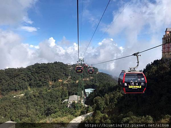 越南峴港Da Nang《巴拿山Sun World Ba Na Hills》纜車3.jpg