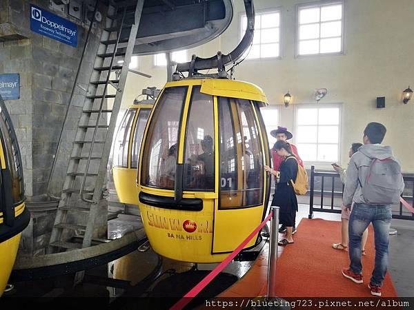 越南峴港Da Nang《巴拿山Sun World Ba Na Hills》纜車2.jpg