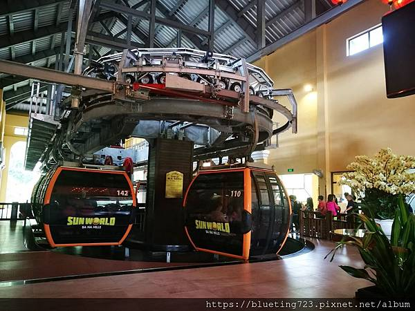 越南峴港Da Nang《巴拿山Sun World Ba Na Hills》纜車1.jpg