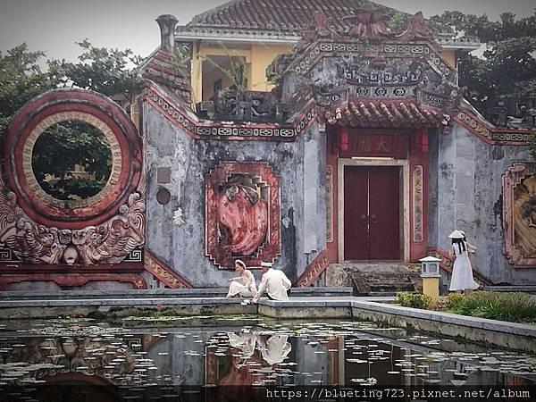 越南‧會安Hoi An《會安古城》The Ba Mu Temple Gate 2.jpg