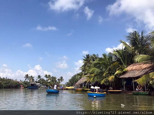 越南‧會安《迦南島Dao Cẩm Nam竹籃船》5.jpg
