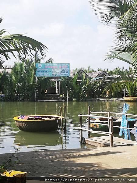 越南‧會安《迦南島Dao Cẩm Nam竹籃船》2.jpg
