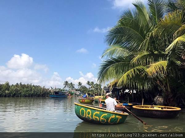 越南‧會安《迦南島Dao Cẩm Nam竹籃船》4.jpg