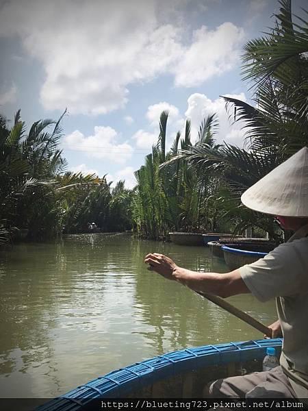 越南‧會安《迦南島Dao Cẩm Nam竹籃船》6.jpg