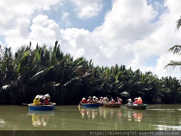 越南‧會安《迦南島Dao Cẩm Nam竹籃船》8.jpg