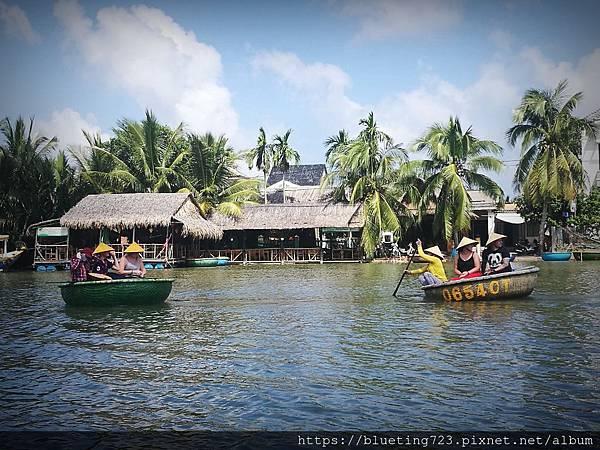 越南‧會安《迦南島Dao Cẩm Nam竹籃船》9.jpg