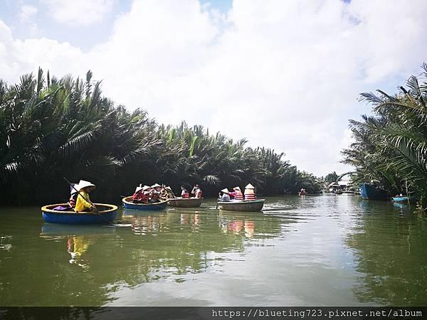 越南‧會安《迦南島Dao Cẩm Nam竹籃船》10.jpg