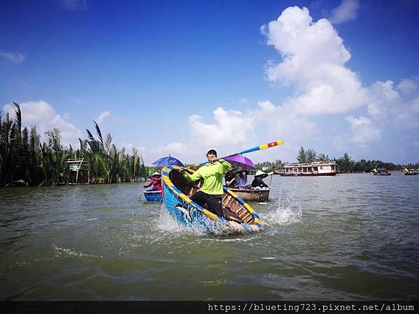 越南‧會安《迦南島Dao Cẩm Nam竹籃船》13.jpg