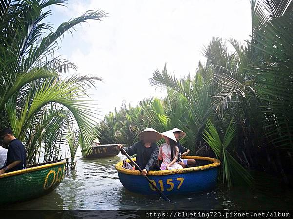 越南‧會安《迦南島Dao Cẩm Nam竹籃船》14.jpg