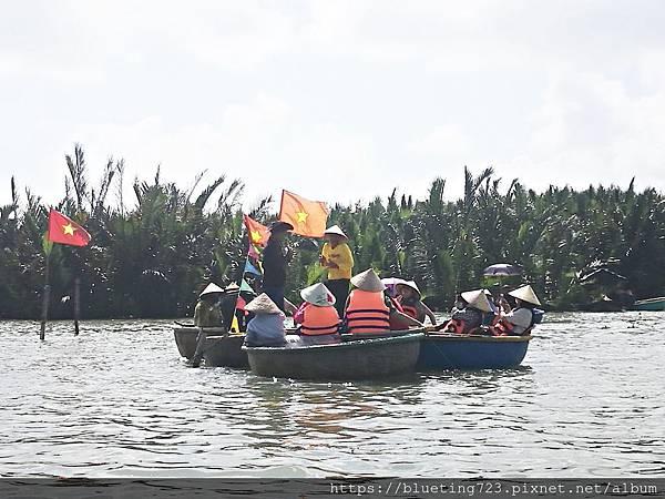 越南‧會安《迦南島Dao Cẩm Nam竹籃船》17.jpg