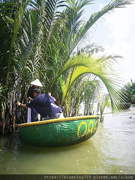 越南‧會安《迦南島Dao Cẩm Nam竹籃船》15.jpg
