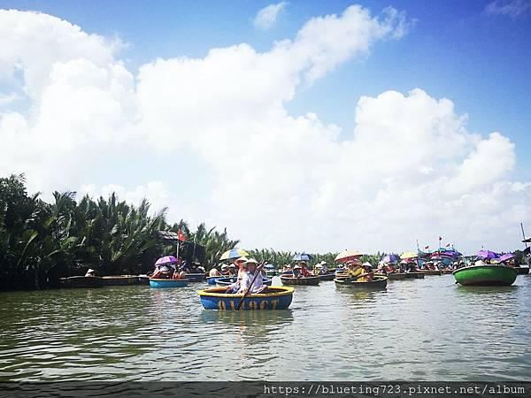 越南‧會安《迦南島Dao Cẩm Nam竹籃船》19.jpg