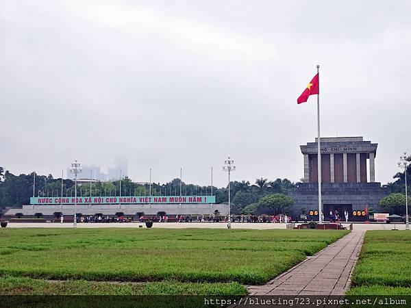 越南‧河內《巴亭廣場》胡志明陵寢.jpg