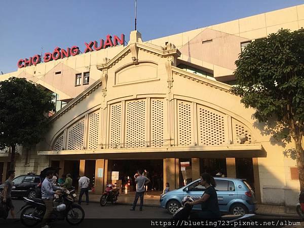 越南‧河內《同春市場》1.JPG