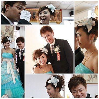 新竹新秘﹣俏麗新娘造型