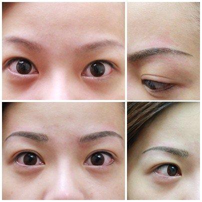 20111117~絹眉+隱形眼線