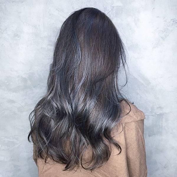 灰霧色,粉霧色,挑染,挑漂,特殊色,歐美挑染,歐美漸層,春夏染髮,夏天髮色,日系漸層,babylight