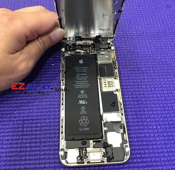 媽呀~我的iphone 6泡到水...其實是尿啦