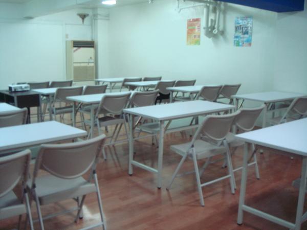希望給學員更舒適的空間