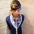 台北推薦染髮 星空色 玩童色 麥芽色搭上海洋藍漸層紫 西門町推薦染髮