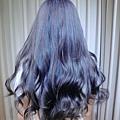 台北推薦染髮  乾燥紫灰藍   西門町推薦染髮