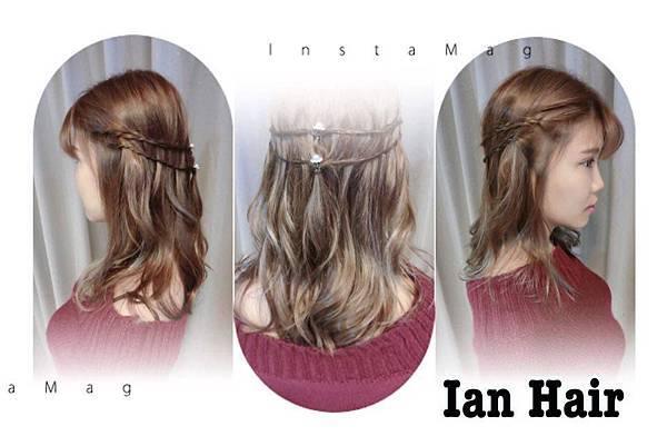 乾燥花髮色