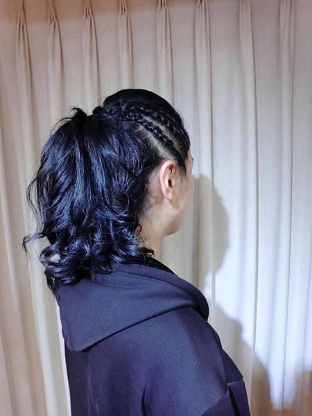 台北推薦染髮 質感藍黑色 西門町推薦染髮