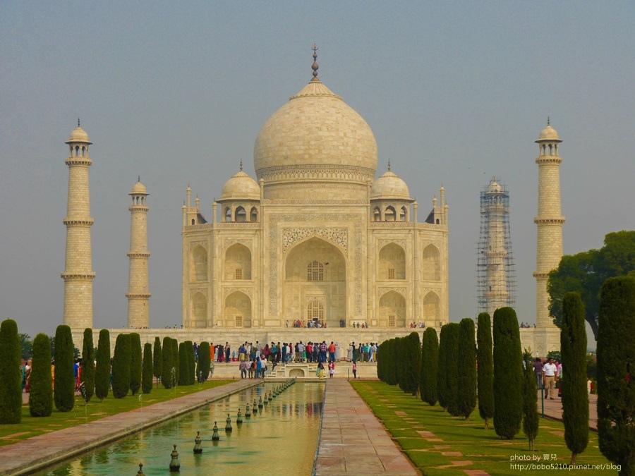 【印度】阿格拉。 泰姬瑪哈陵,思念日日夜夜,都化做永恆面頰上的一滴淚