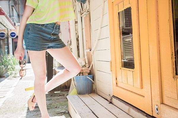 夏季穿搭渡假短板T夏季穿搭渡假短板T