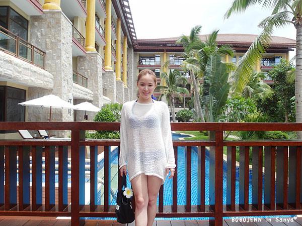 三亞海南島亞龍灣瑞吉酒店渡假六套穿搭+比基尼分享