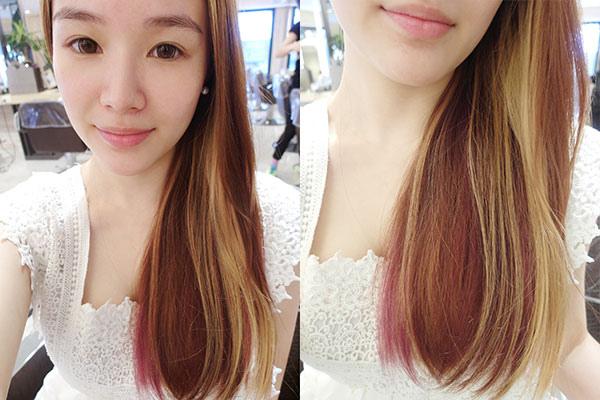 染髮市政府happy hair winnie
