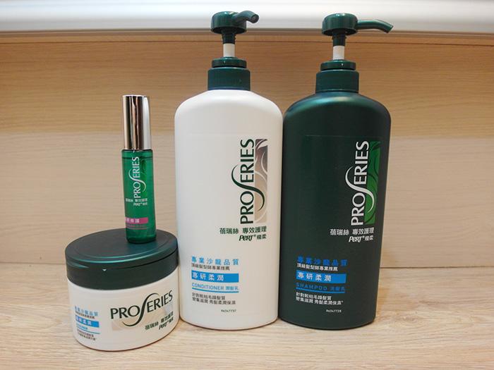 P&G洗潤護髮四件組