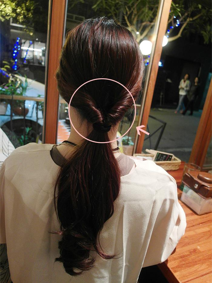 復古時尚低髮髻教學優雅氣質大提升