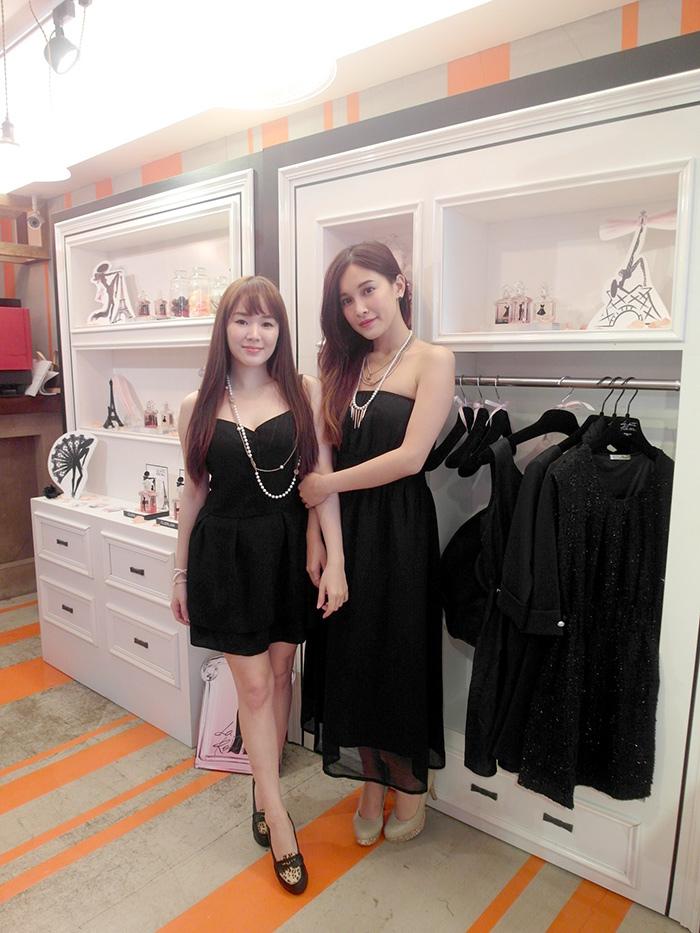 嬌蘭Xshe.com香榭女孩小黑裙