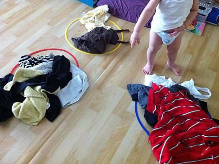 自創收衣學習法