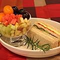 三明治&水果組合