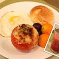 鮪魚焗烤番茄