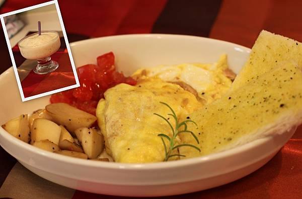 鮪魚蛋&杏鮑菇
