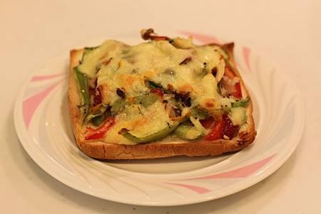 土司皮披薩